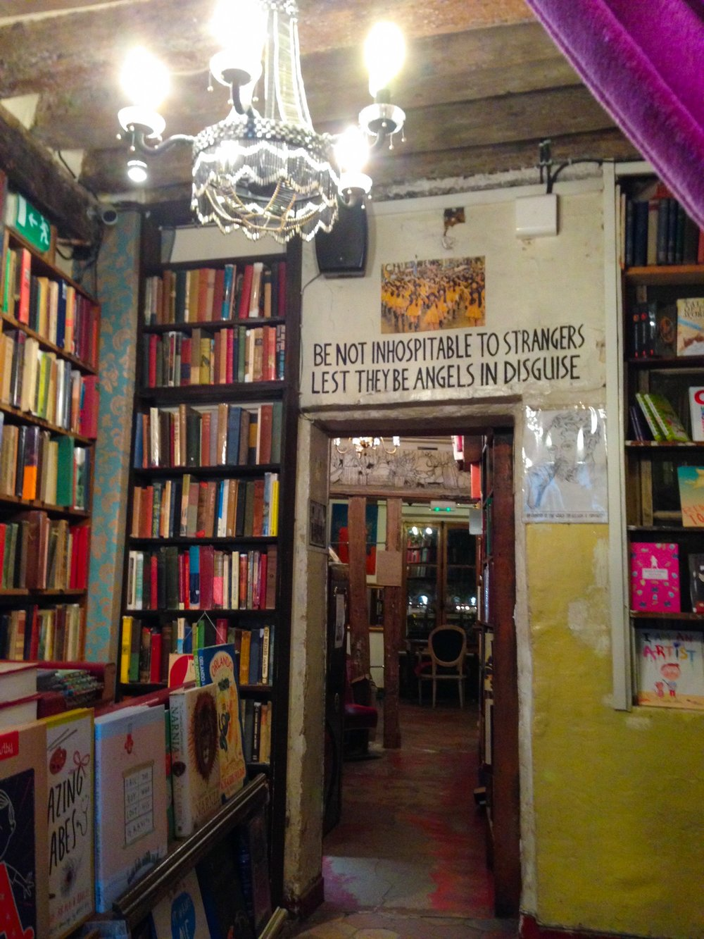 Or, family you didn't know you had :) -- Quote in shakespeare and company in paris