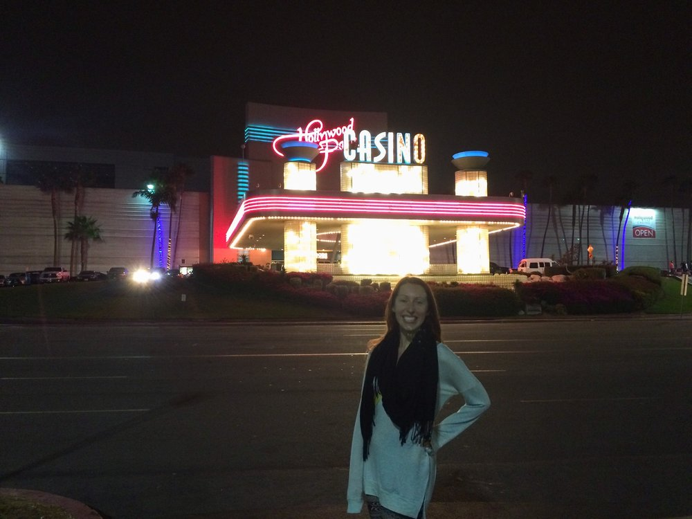 Checking out the casino!
