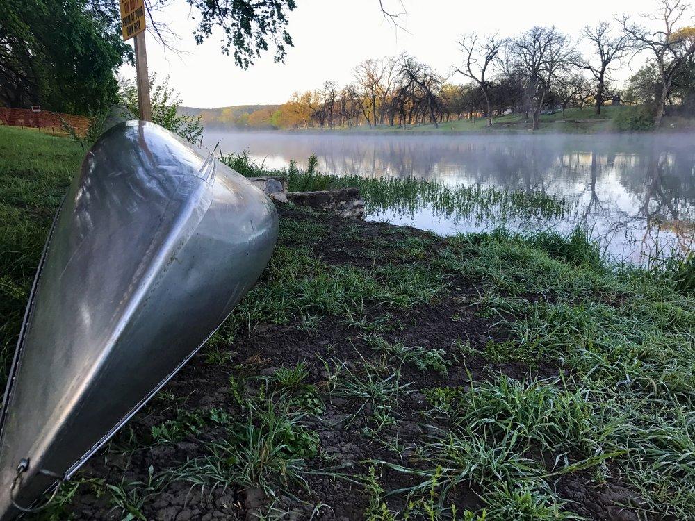 Canoe Llano River Junction Texas