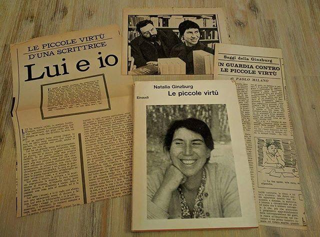 """Le """"mie"""" piccole virtù, arrivate con tre articoli dell'Espresso del 1962. Spettacolo #ebay #nataliaginzburg #lepiccolevirtù #luieio #einaudi #einaudieditore #primaedizione"""