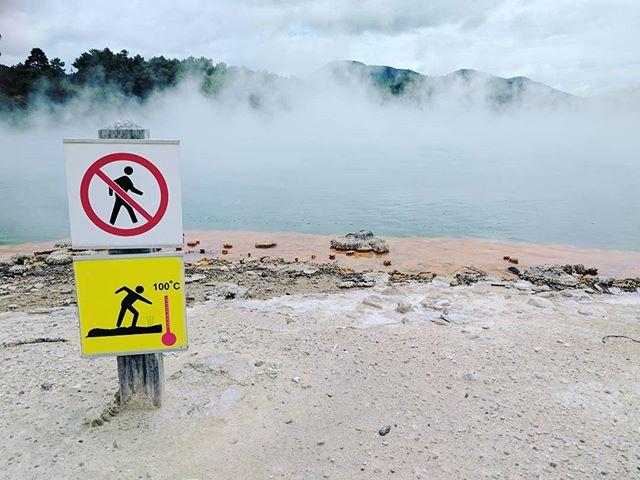#hotwater #steam #rainbowwater #termalspa #newzeland #northisland