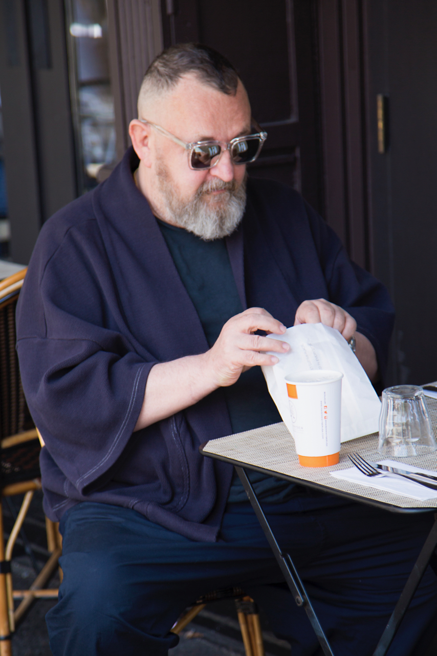 TRIBECA   Michel Gaubert   Shot by  Paul Lowe