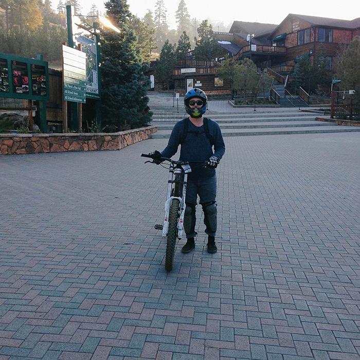 Hitting up the trails  — Big Bear