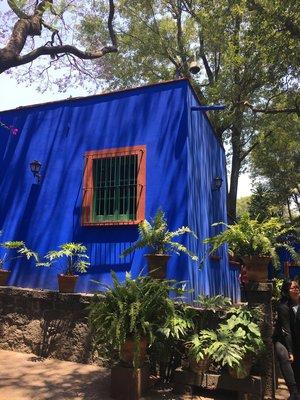 Image result for frida kahlo house