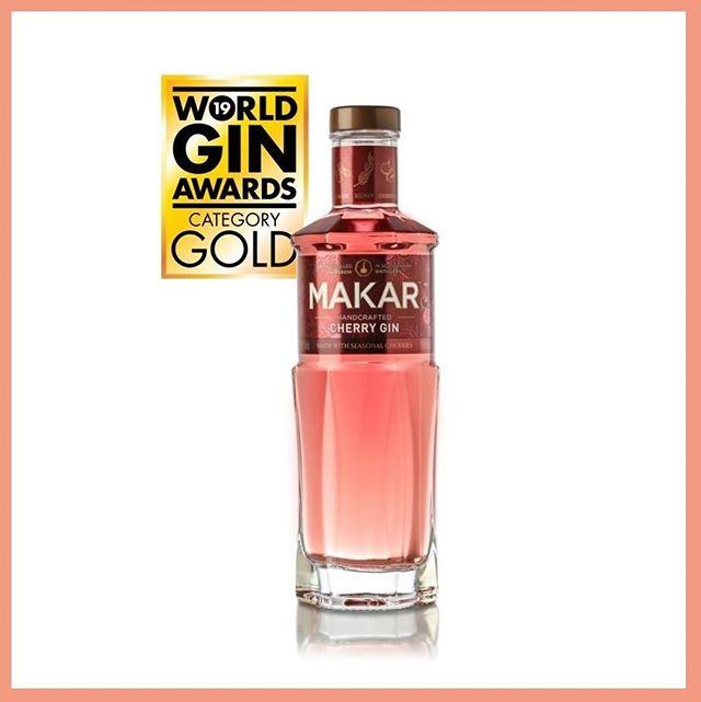 """MAKAR CHERRY GIN - WORLD'S BEST FLAVOURED GIN 🍸🍒🏆⠀ ⠀ The @WorldGinawards, part of the World Drinks Awards, celebrates the very best in all internationally recognised #styles of #gin. The #competition, which attracted over 4000 gin entries, consists of a rigorous three-step process of judging by expert industry judges. @GlasgowDistilleryCompany's Cherry Gin was awarded the title of 'UK's Best Flavoured Gin' and has just been World's Best Flavoured Gin category on 21st February.⠀ ⠀ Makar Cherry Gin is created by infusing ripe, seasonal #fresh cherries and a sprinkling of pink peppercorn in @Makarglasgowgin Original Dry, before being pressed to release maximum flavour. It is bottled at 40% ABV and is available to buy in #Australia at Dan Murphy's online and on www.3two1.com.au .⠀ ⠀ """"#Makar #Cherry #Gin only launched six months ago so to be recognised in such a prestigious industry award so soon is an extremely #proud moment for us.⠀ ⠀ Makar Oak Aged Gin was also awarded the Bronze Medal in the UK's Matured Gin category."""