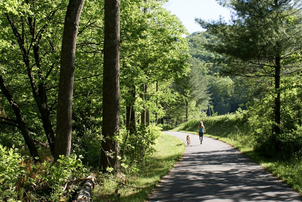 What are the benefits of having a greenway?