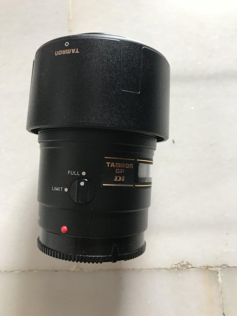 Tamron 90mm F2.8 macro - Sony montura A. Perfecto €250