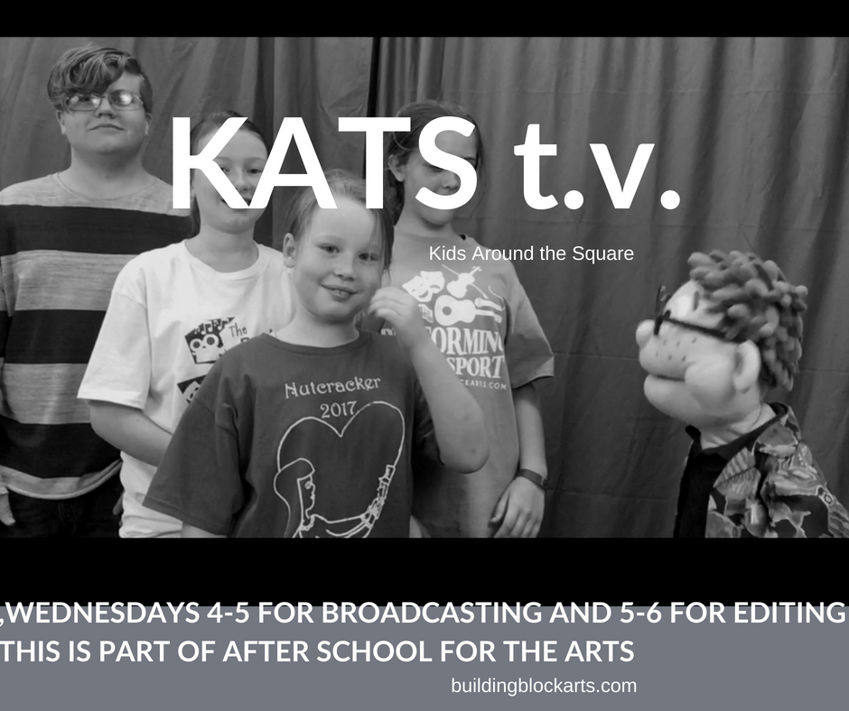 "Kids Around the Square ""KATS t.v.""  Kids news for kids by kids  ***Click on photo to see videos"