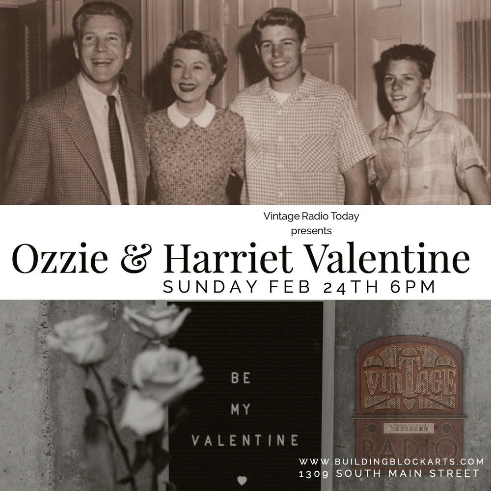 Ozzie and Harriet valentine