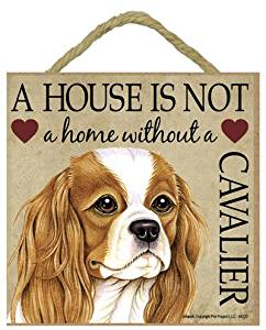 King Charles Sign. Cavalier Wood Sign