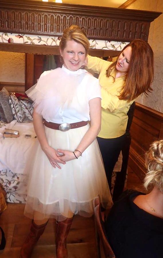 lorna gillies photoshoot photo shoot model posing scotland tweed harris tweed bespoke designer jackets coats highlands kilchoan castle mingary castle kilt