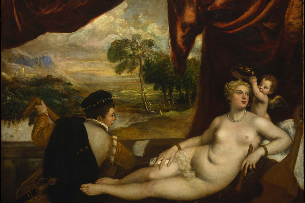 titian venus and lute player