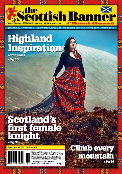 Scottish Banner Lorna Gillies