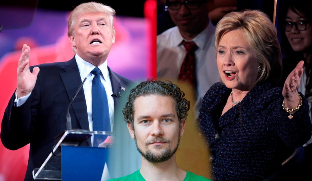 Donald Trump Hillary Clinton 2016 Third October Debate President