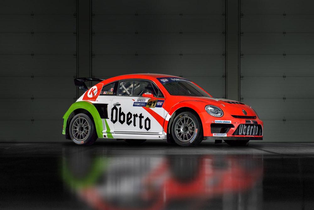 Oberto and Circle K Partner with Volkswagen Andretti Rallycross — Oberto