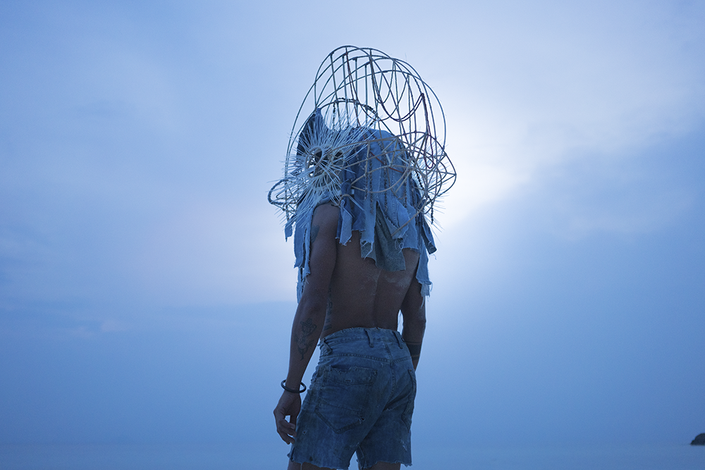 Tuan Andrew Nguyen, production photograph for The Island, 2017.Ultra-high-definition video, color, sound; 42:05 min. Collection of the artist; courtesy the artist.