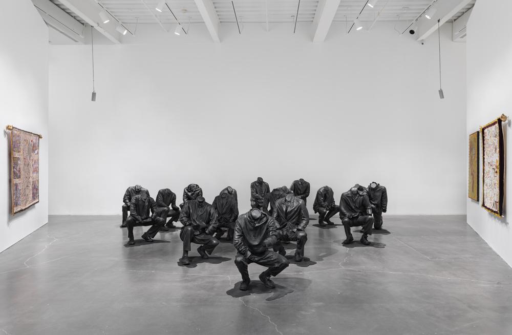 Haroon Gunn-Salie,  Senzenina , 2018. Exhibition view: New Museum, New York. Photo: Maris Hutchinson / EPW Studio.