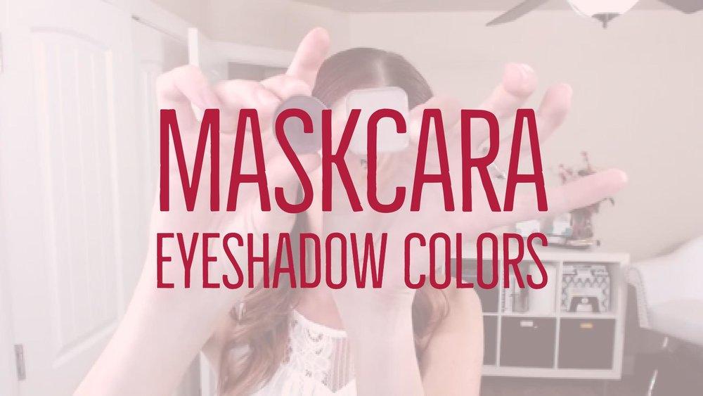 Maskcara Eyeshadow Colors & Swatches — Chelsea Lewis