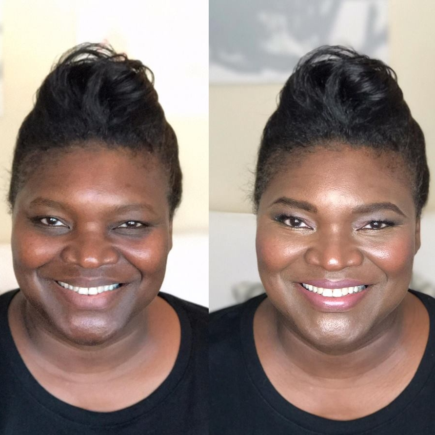 Maskcara Cinnamon Before and After