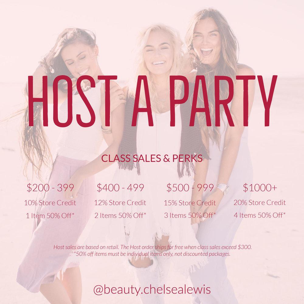 Maskcara Party Hostess Rewards