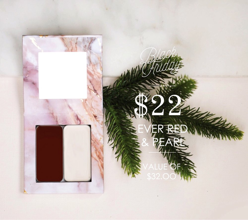 Maskcara Ever Red and Pearl Black Friday Deal