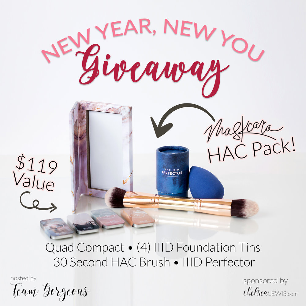 New Year New You Giveaway - Maskcara Beauty