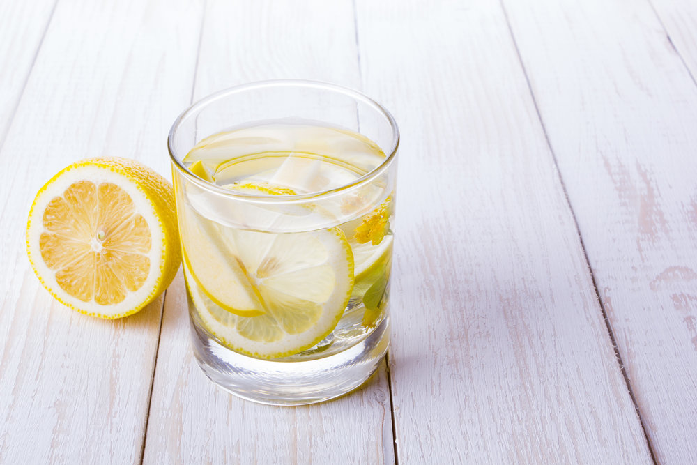 Lemon Water in morning routine