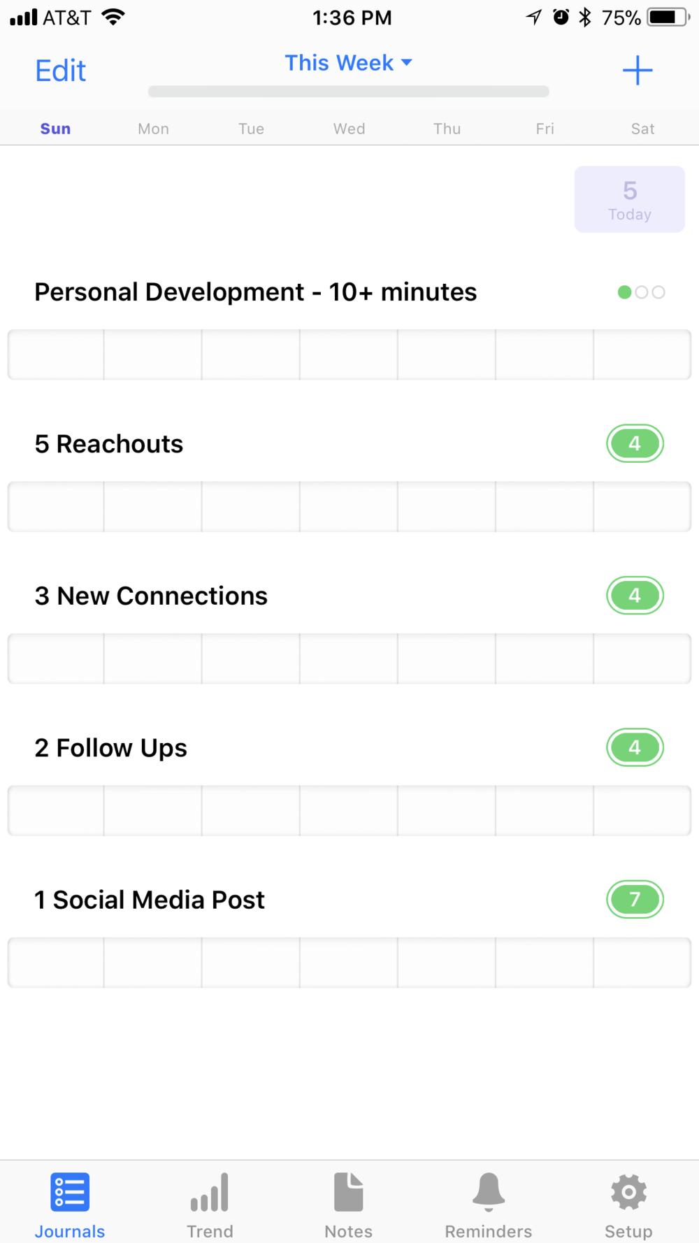 Way of Life App Screenshot