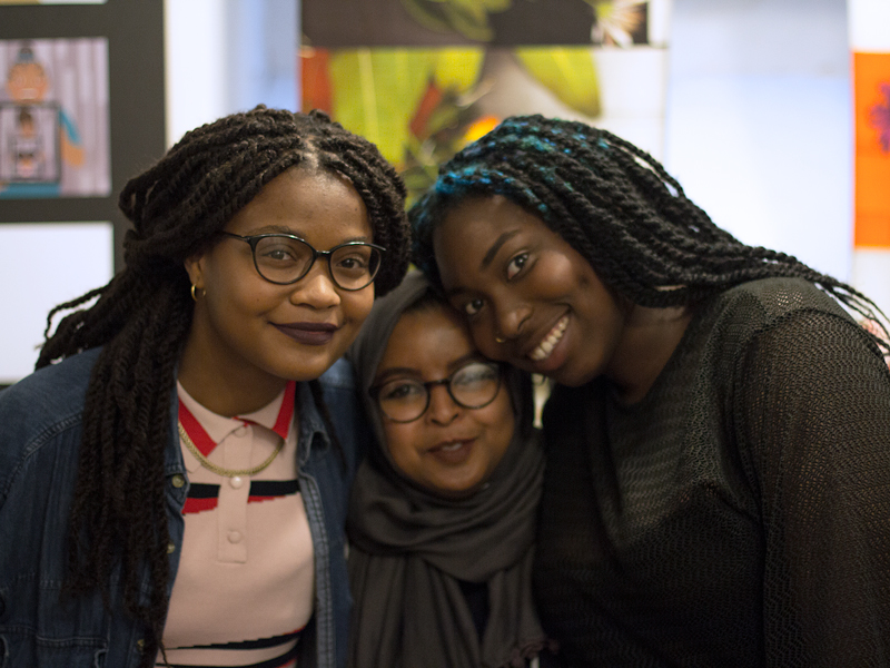 Black British girlhood; Olivia Twist, Kariima Ali, Bekke Popoola