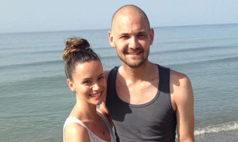 Holly Matthews and her husband, Ross Blair