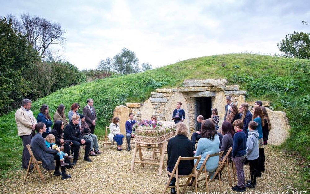 A person-centred funeral ceremony at Willow Row in Cambridgeshire
