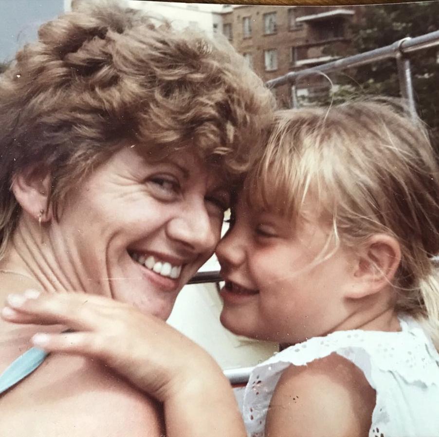 Nicky Duffell and her mum