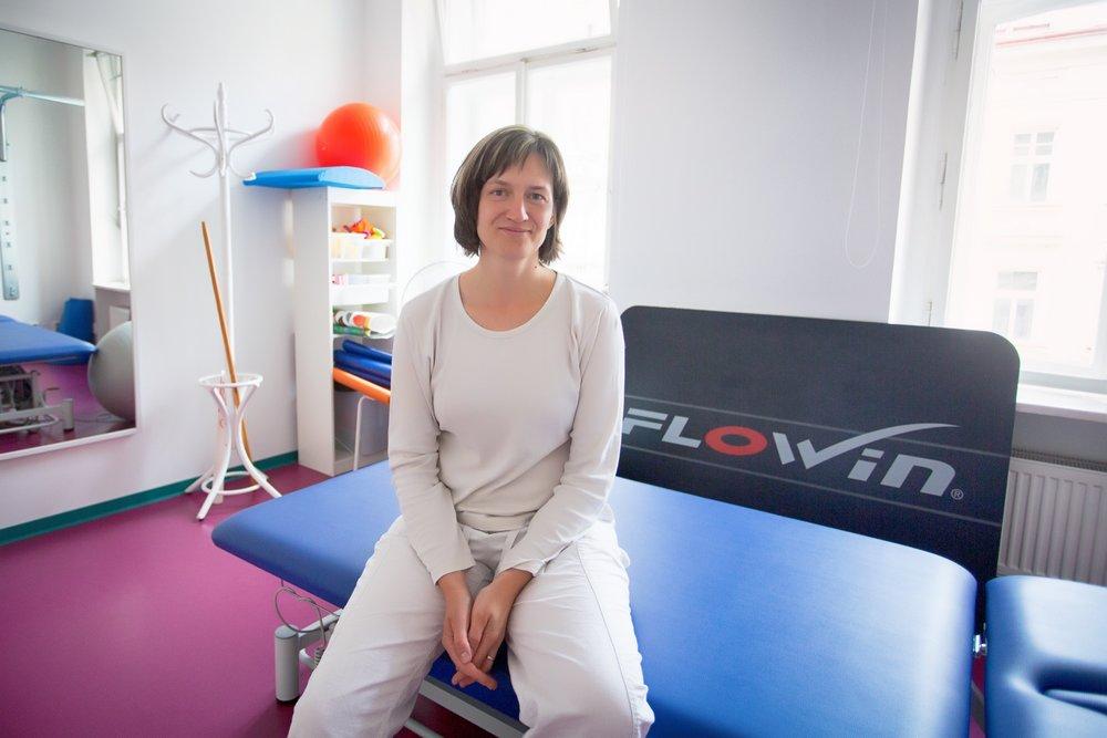 <b>Mgr. Soňa Bolomská</b><br>fyzioterapeut