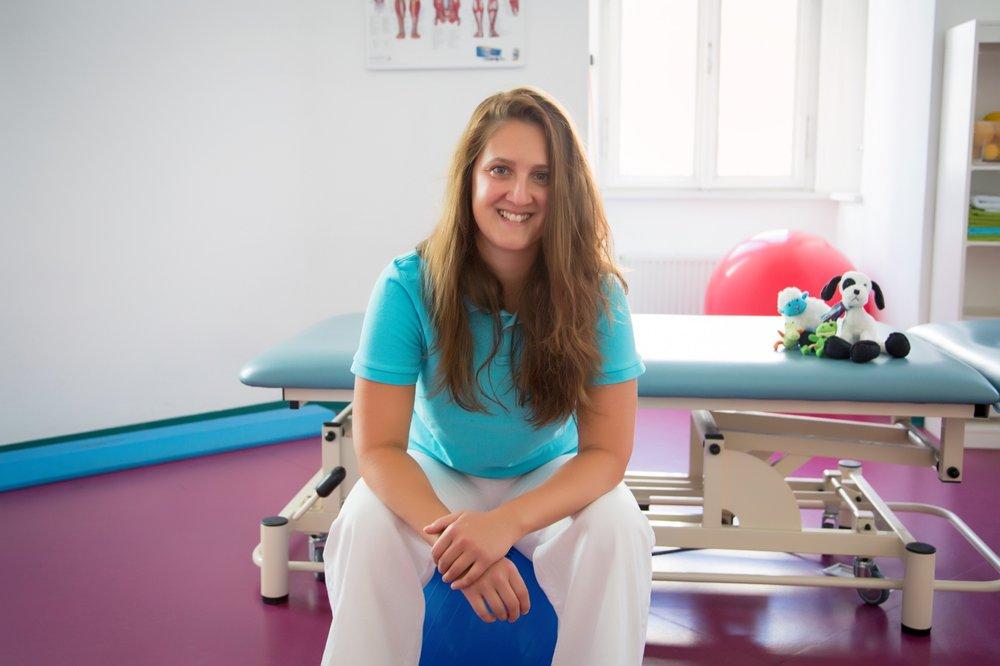 Mgr. Tereza Kindlmannová vedoucí fyzioterapeut
