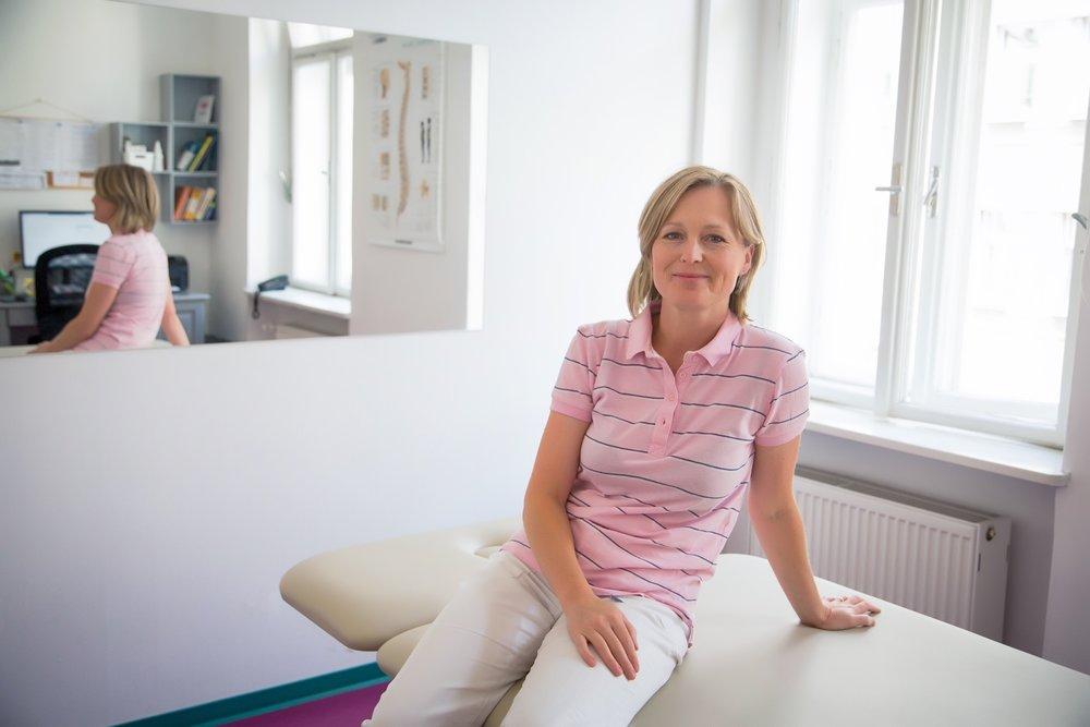 Prim.MUDr. Patricie Vavroušková - primářka rehabilitace