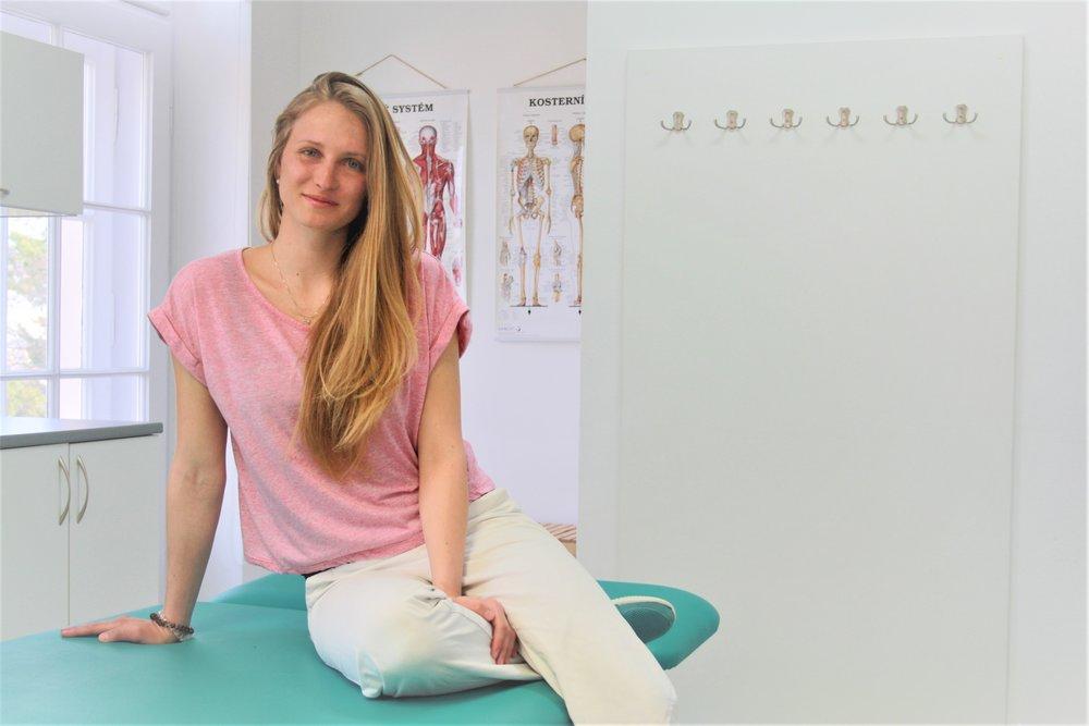 Mgr. Silvie Macečková fyzioterapeut