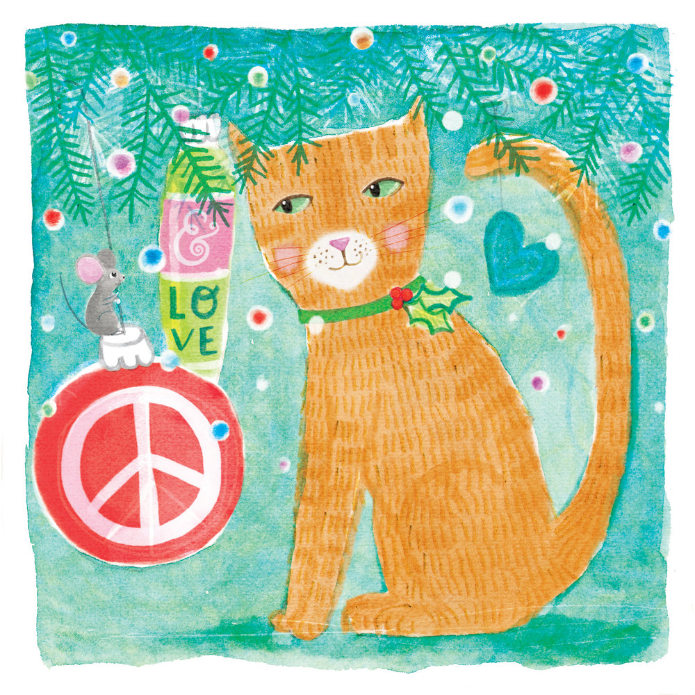 KITTY PEACE & LOVE