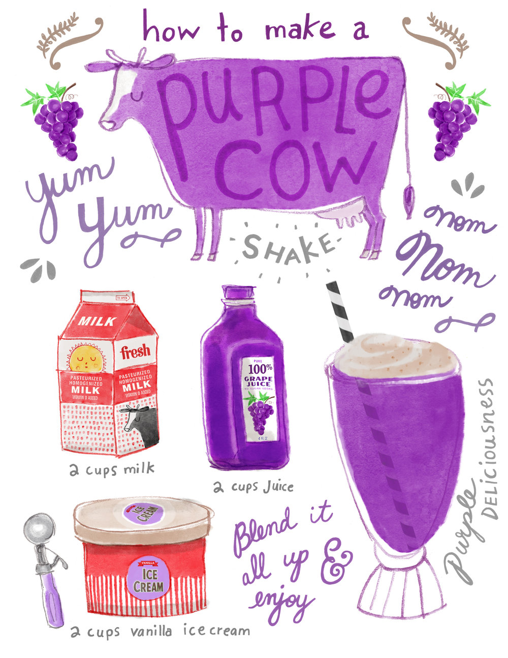 Purple Cow Recipe