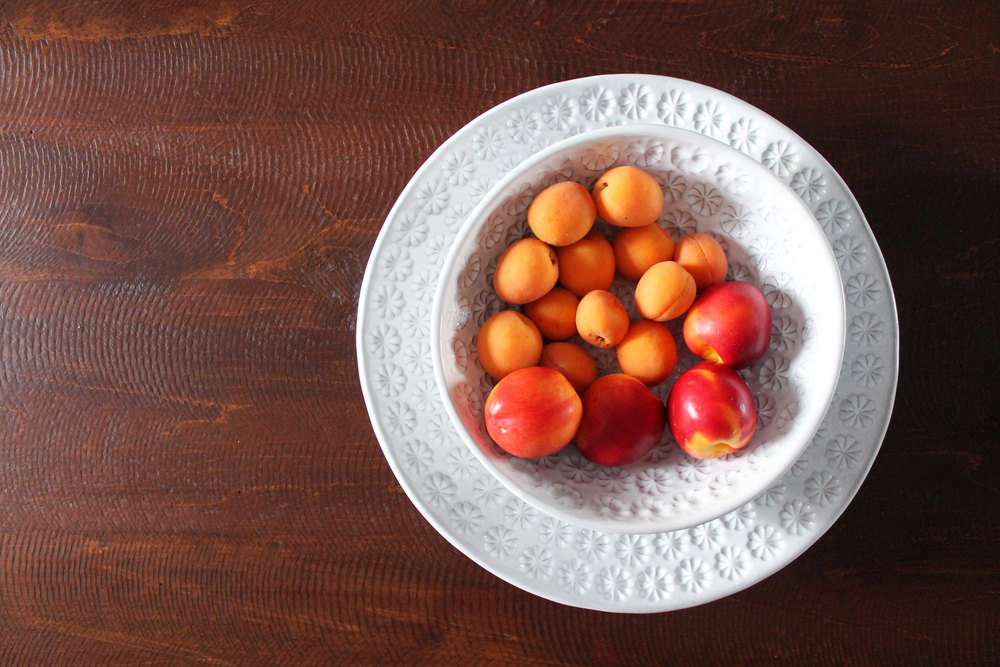 Peaches and other stone fruits are in season now, make sure you get them while they're good!