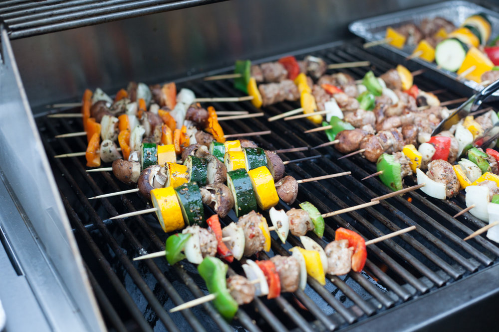 BBQ Skewers made by Sara