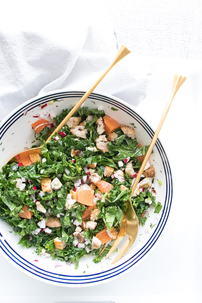 Kale and chicken salad with orange dressing.jpg