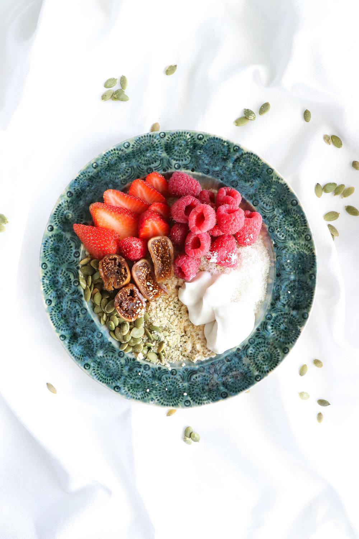 vegan protein oatmeal