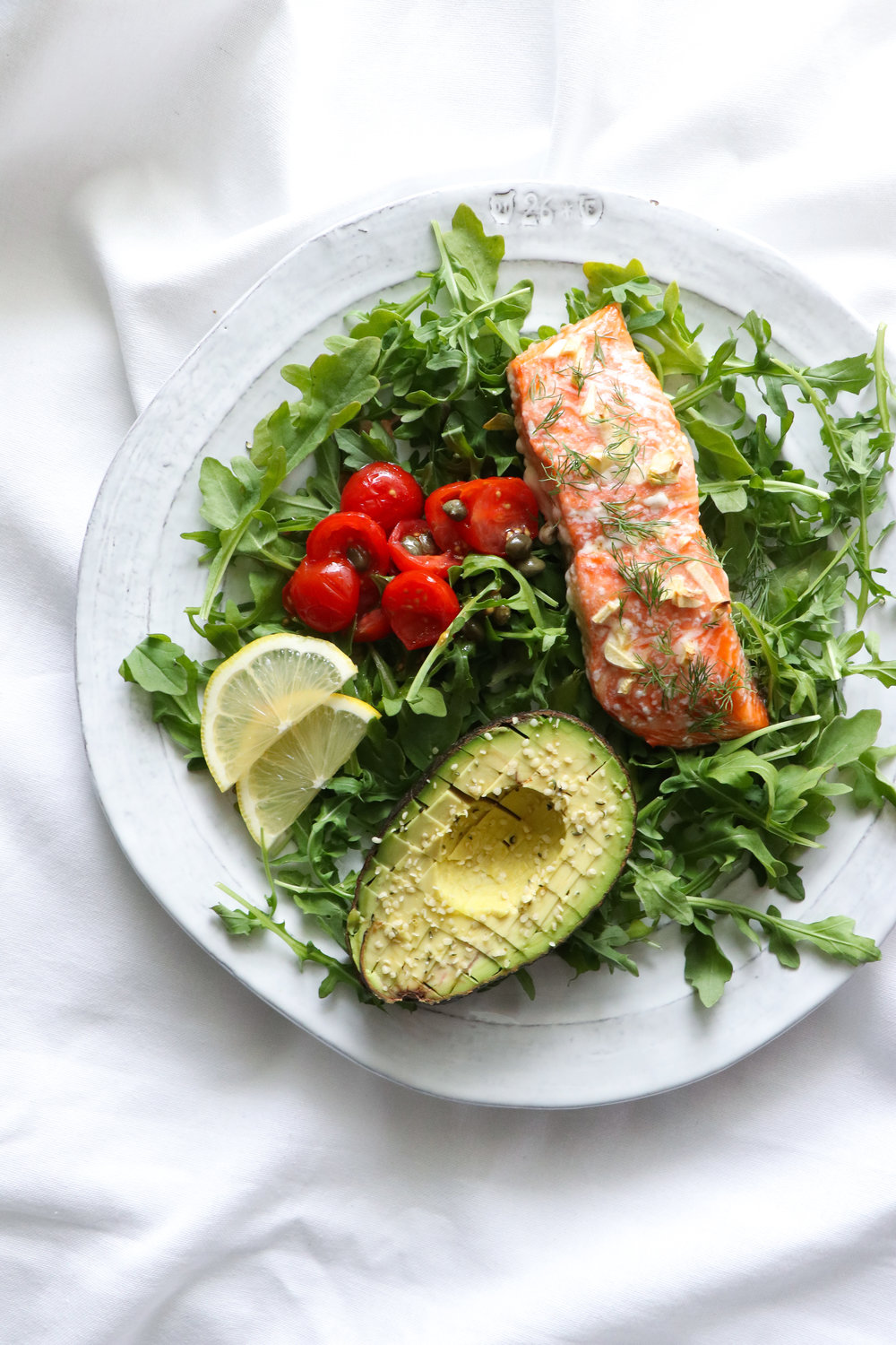 salmon and avocado recipe
