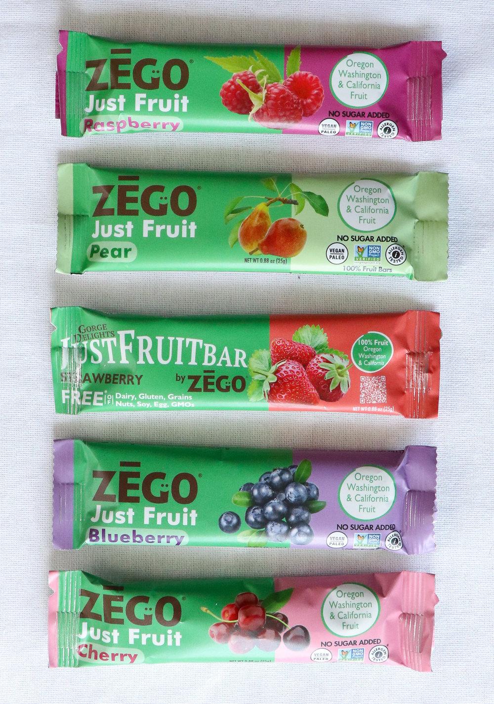 ZEGO allergy free snacks