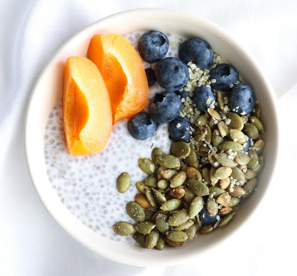 low acid allergy free breakfast