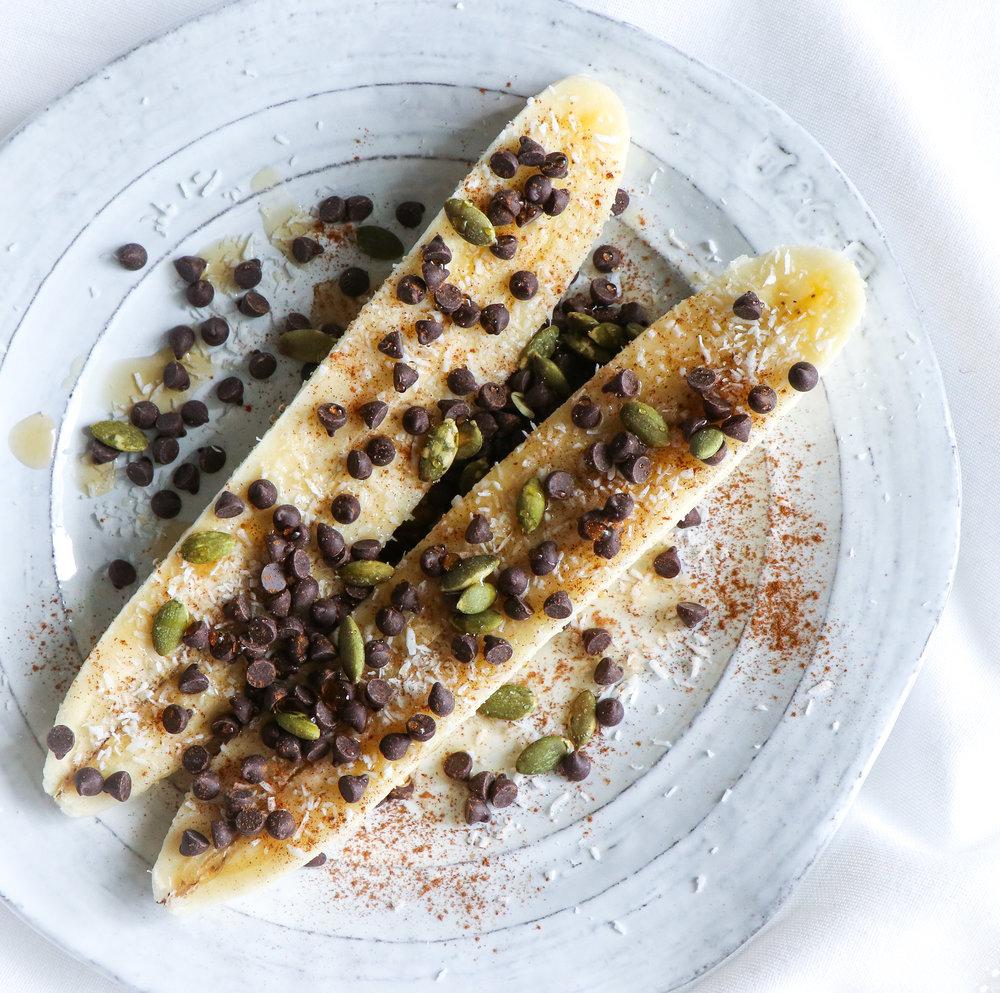 vegan breakfast banana