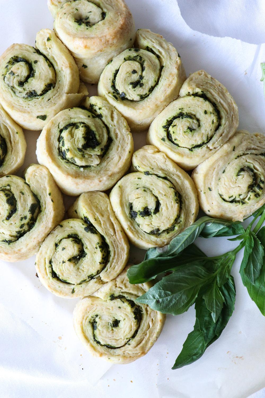 herb scone rolls dairy free