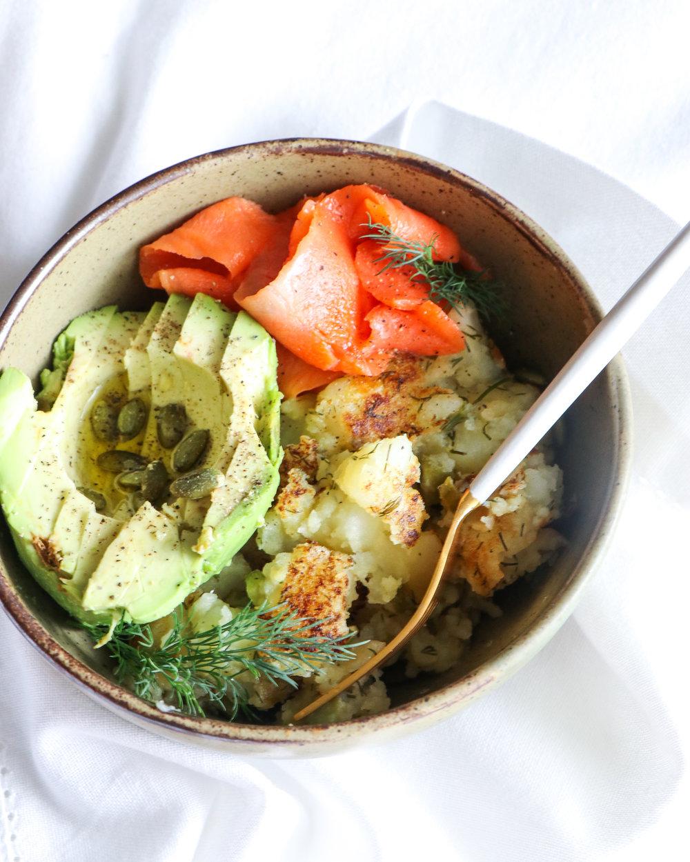 Vegan Potato Salad + Hash Browns