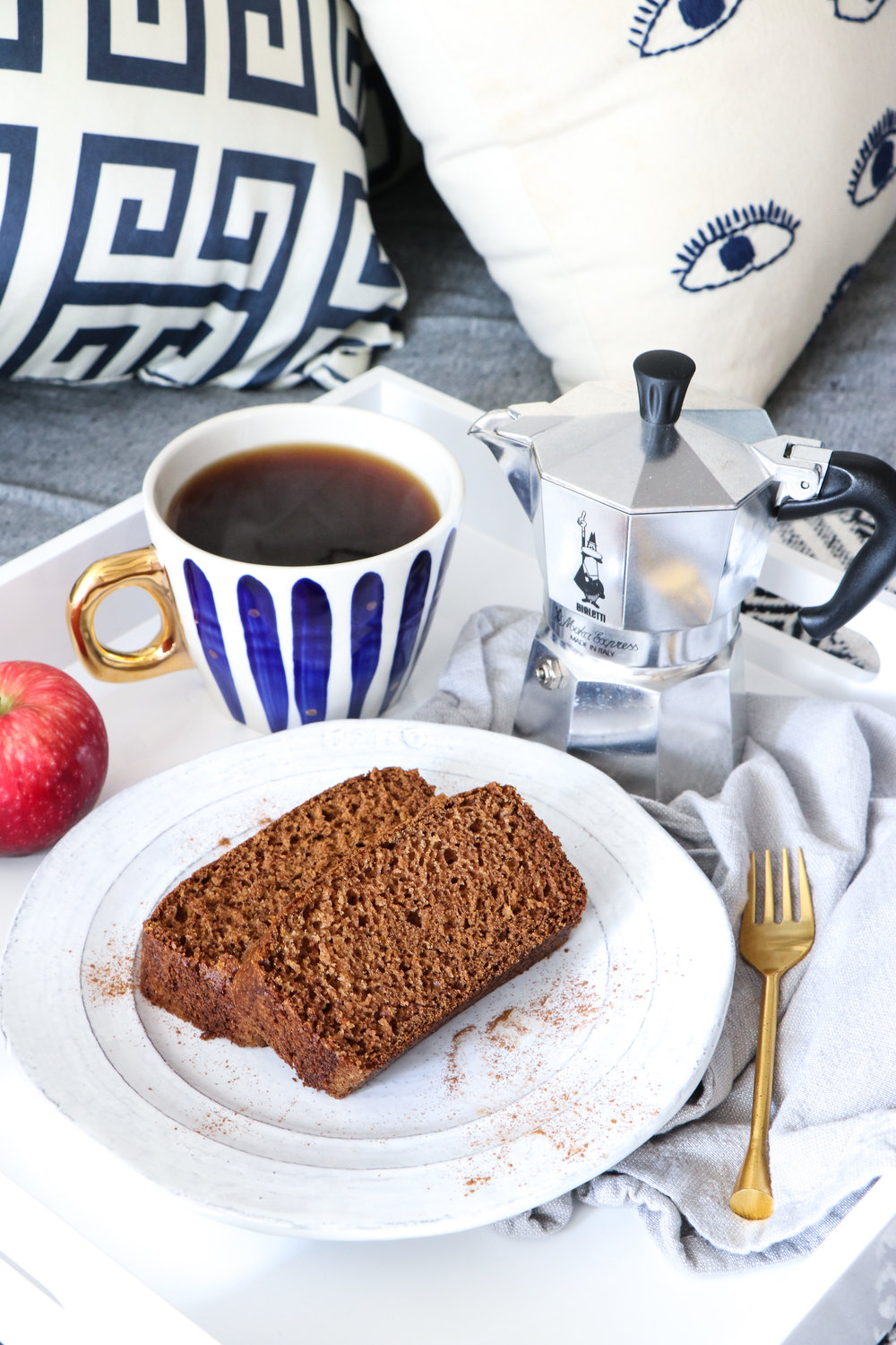 vegan apple spice bread recipe
