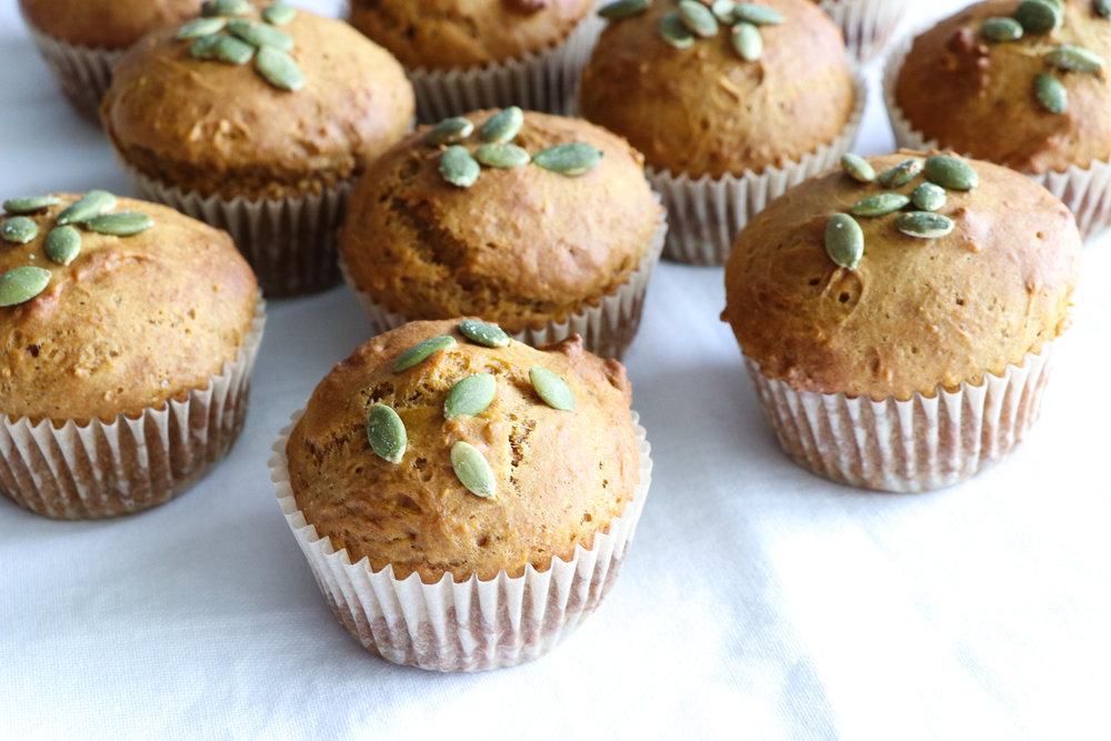 vegan pumpkin muffin recipe